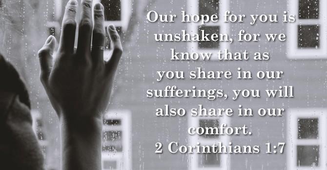 Utterly Burdened Beyond Our Strength