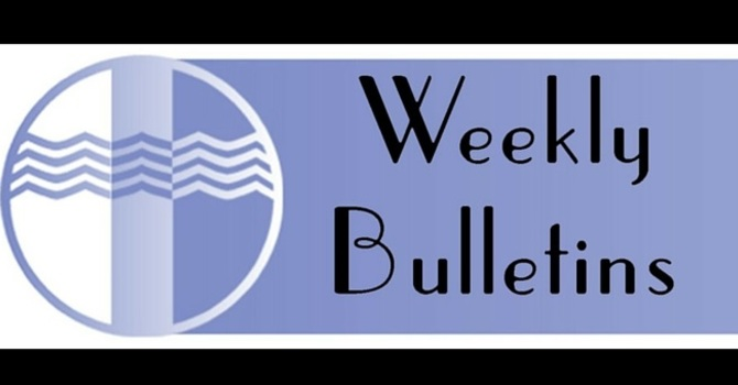 Weekly Bulletin | Sunday, January 3 2016 image