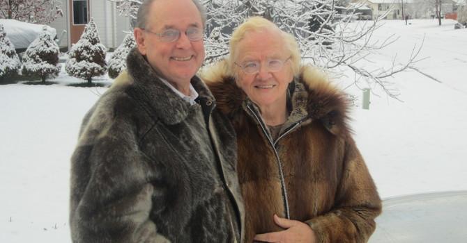 Dr. Clair and Clara Schnupp image