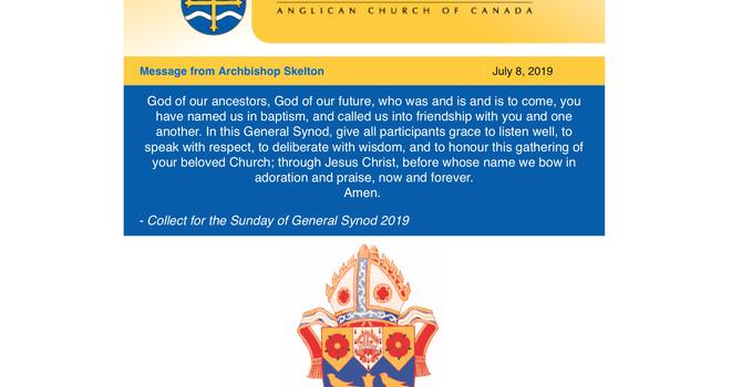 Archbishop's Communique  image