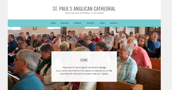 Cathedral launches new website image