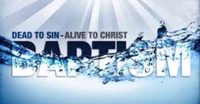 Baptism Testimonies