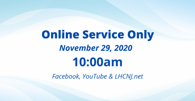 Online Worship Service Only image
