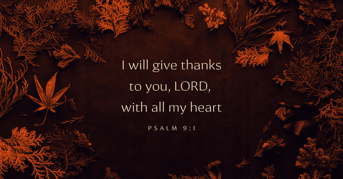 Thanksgiving Inspiration image