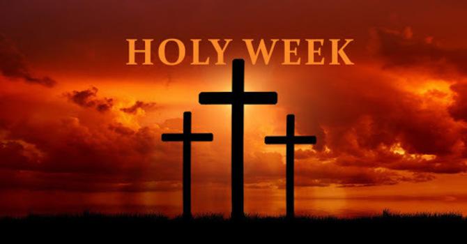 Holy Week Pastoral Letter image