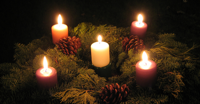 Make your own Advent Wreath image