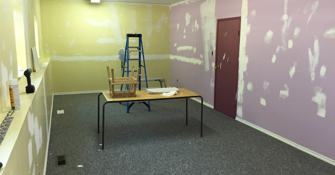 Preparation for Godly Play has begun. image