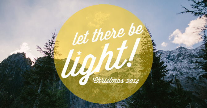 Let There Be Light! Christmas 2014 image