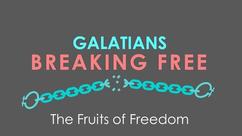 The Fruits of Freedom