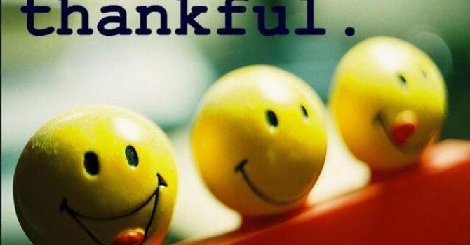 Giving Thanks is Always God's Will