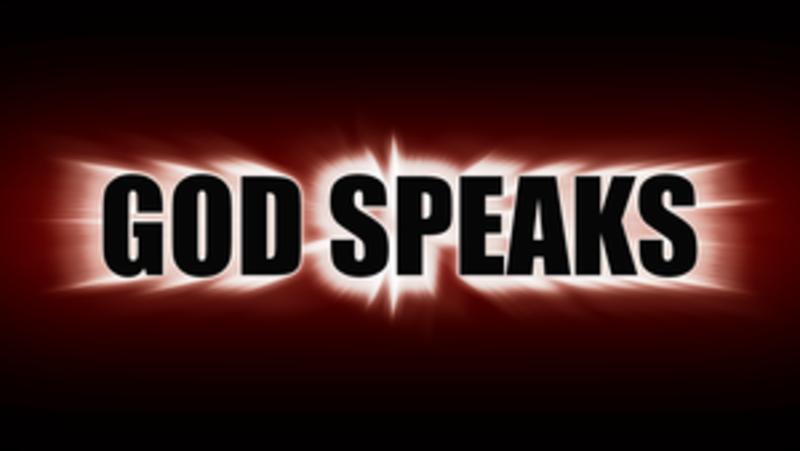 When God Speaks, use SOAP