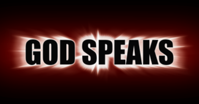 God Speaks - Who Are You Hearing?
