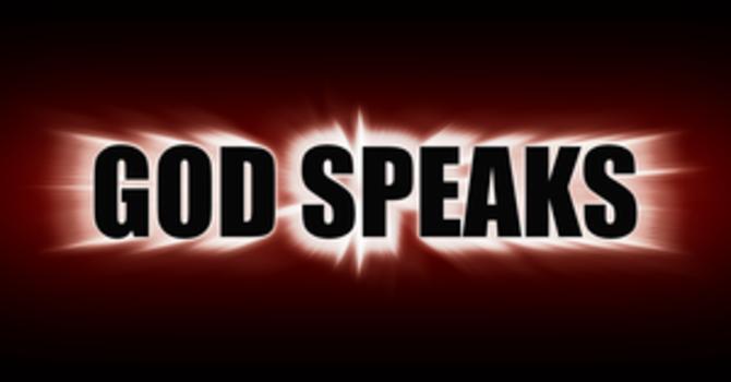 God Speaks Through The Holy Spirit