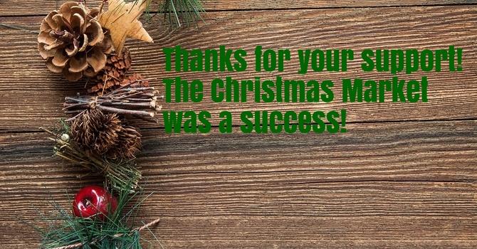 Christmas Market: Thank you! image