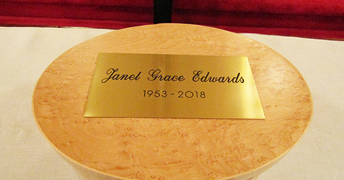 'Her faith did not waiver':  Janet Edwards laid to rest image