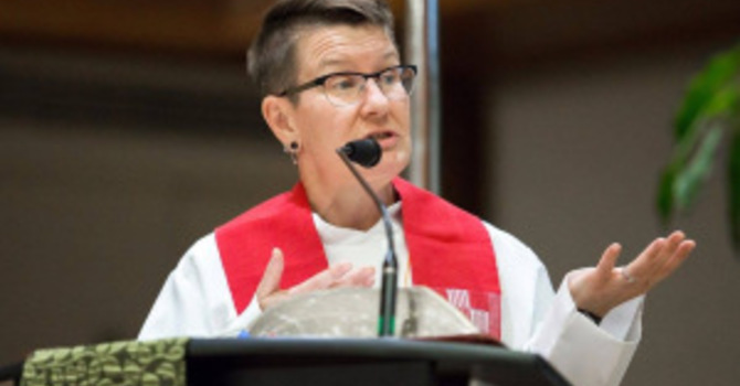 Moderator of United Church    -  Relinquish White Privlege image
