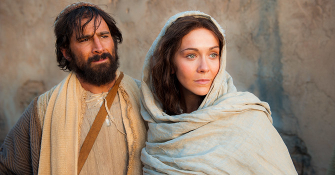 Christmas Eve: A Visit from Mary and Joseph