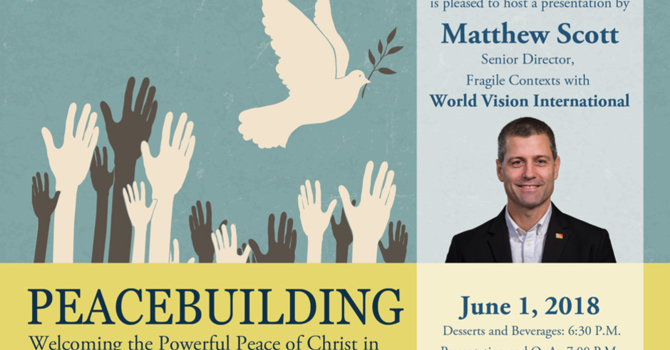 Peace Building | a lecture