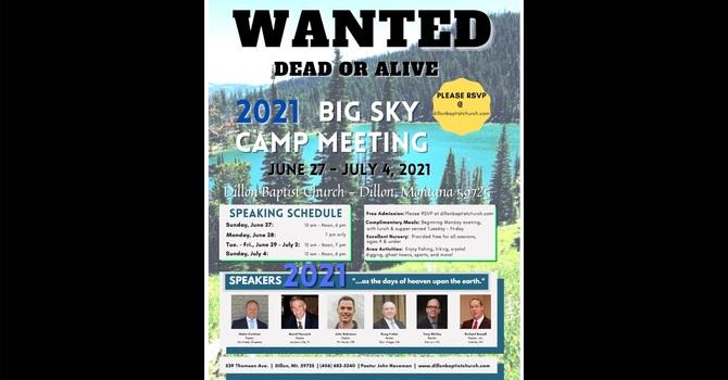 2021 Big Sky Camp Meeting