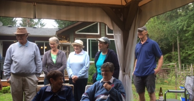 Choir and Bells hold Wind-up BBQ image