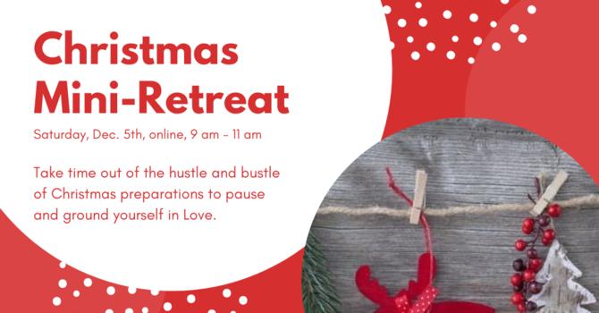 Christmas Mini-Retreat image