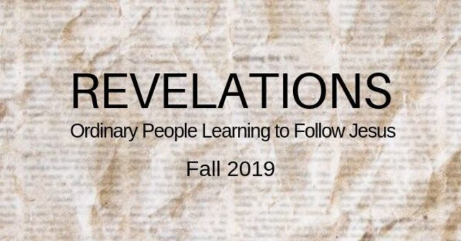 Revelations Newsletter image