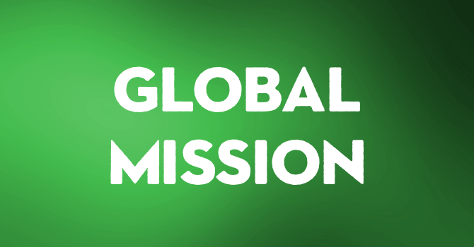 Global Mission Sunday - January 5th