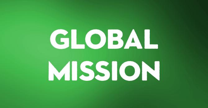 Global Mission Sunday - January 5th image