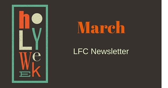 LFC March Newsletter image