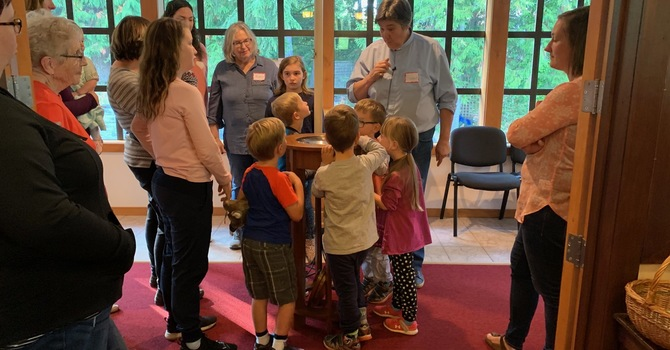 Messy Church is messy fun... and back! image