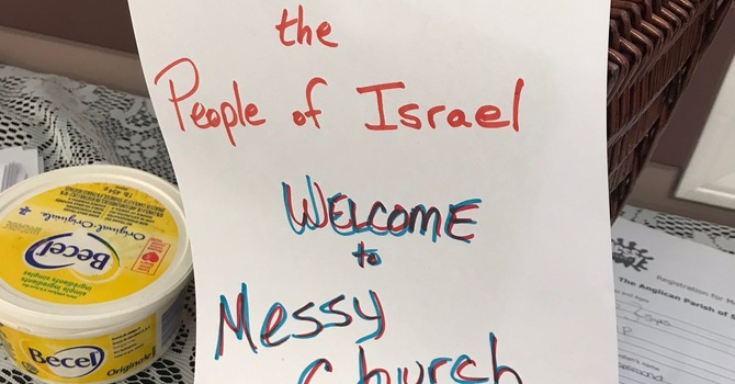 Messy church studies Moses image