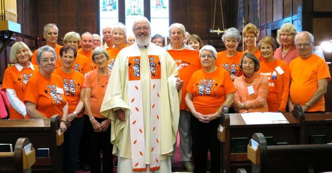 Orange Shirt Day at St. Mark image