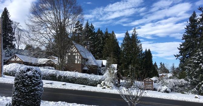 Snow Storm Cancels Services Feb. 18 image