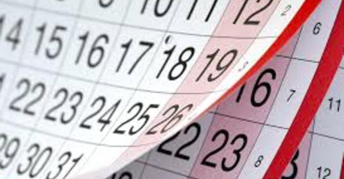 Calendar on Website image