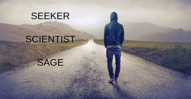 Seeker, Scientist, Sage image