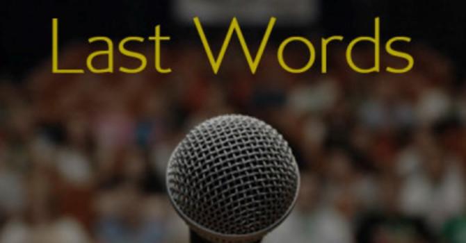 Last Words on Nehemiah