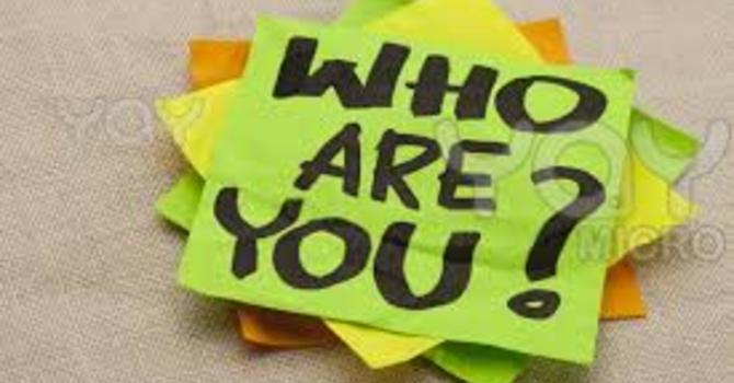 Who Are You? image