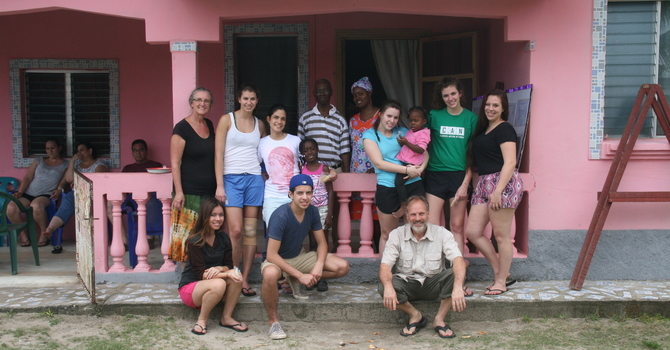 Serving in Honduras image