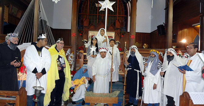 St. Mary the Virgin, South Hill, Christmas Pageant