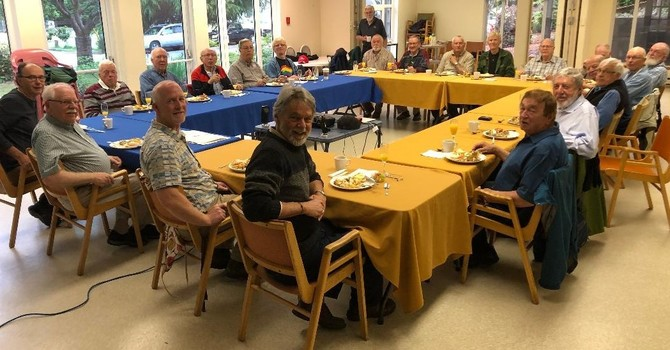 Saturday Morning with the Men's Breakfast Group  image