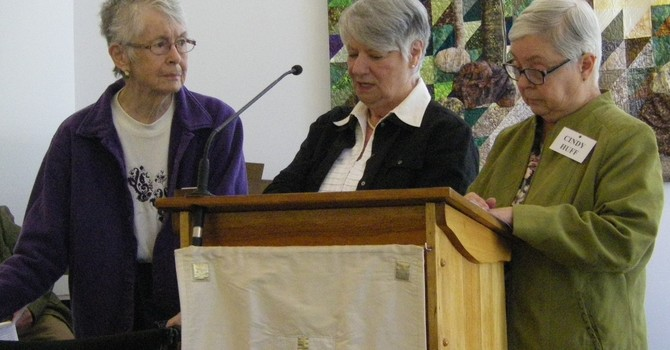 Nancy Climie, Honoured with United Church Women's Life Membership image