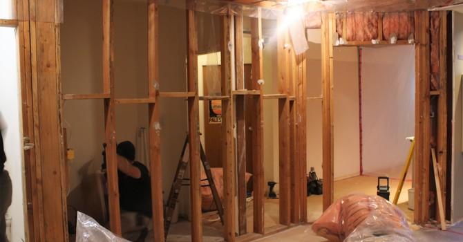 Construction has begun! image