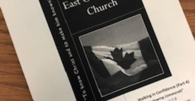 June 30, 2019 Church Bulletin image