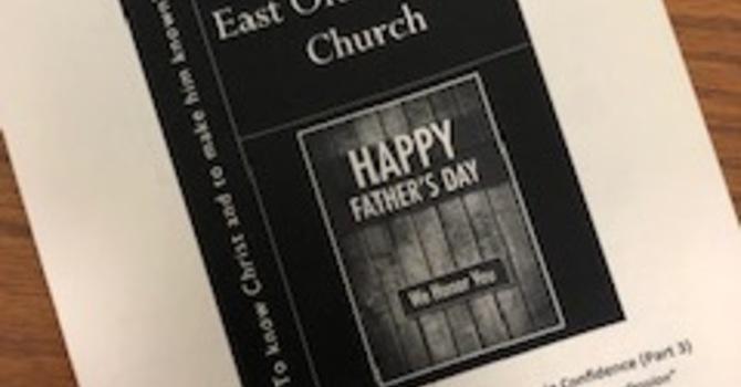 June 16, 2019 Church Bulletin image