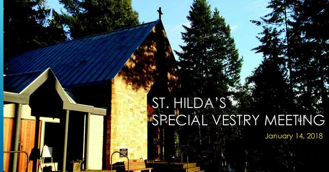 Special Vestry Meeting Results image