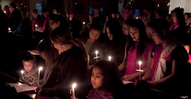 A Beautiful Service of Carols by Candlight (from Dec. 20) image