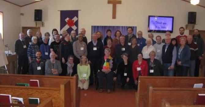 Photos from Presbytery meeting held at St. Columba image