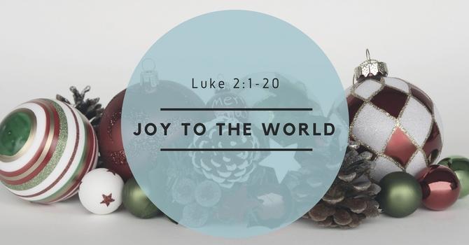 Joy to the World! image