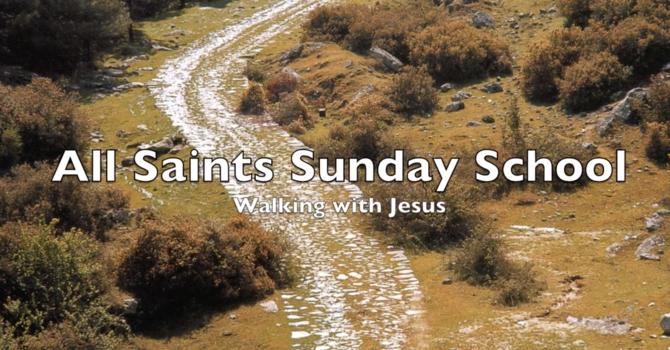 Sunday School Easter 3 April 26
