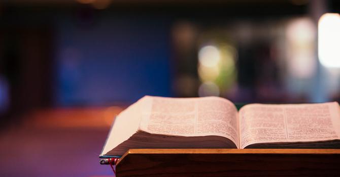 Reopening for Worship! image